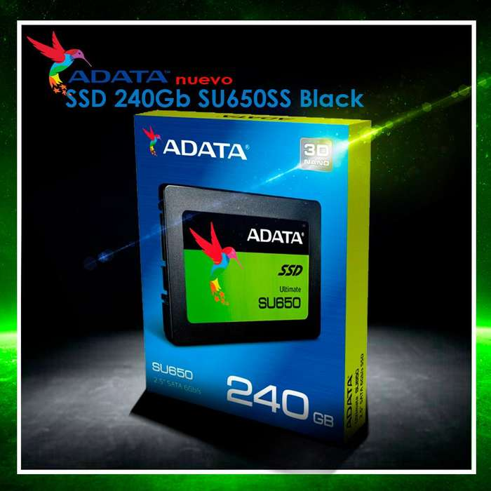 DISCO SOLIDO 240GB ADATA SU650 2.5 SATA PC/NOTEBOOK