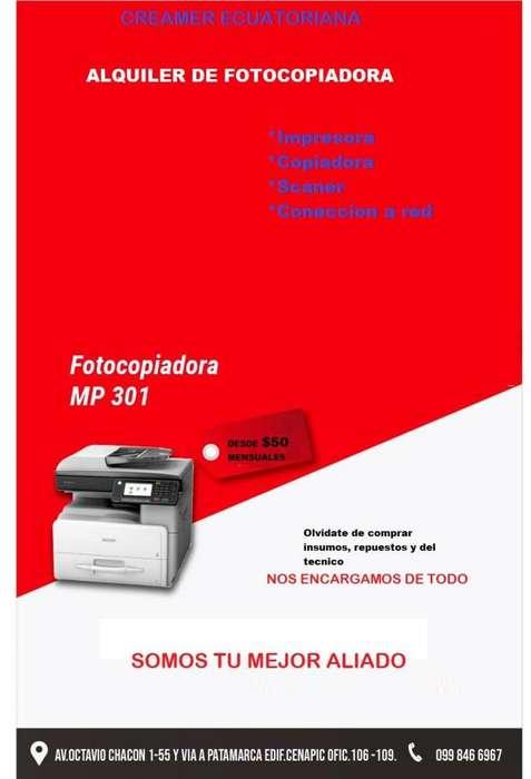ALQUILER DE FOTOCOPIADORA