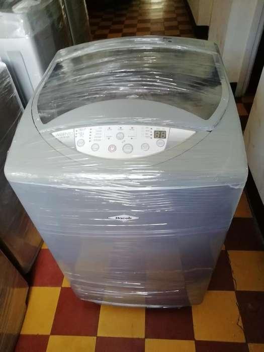 Lavadora Haceb Gris de 18 Libras