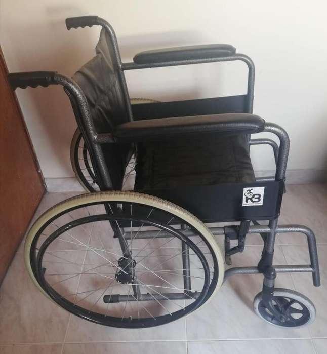 silla de ruedas usada excelente estado