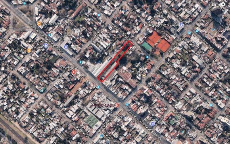 EN VENTA. IMPORTANTE LOTE 3600 m2 Para Emprendimiento. Sobre Av. Peron - Excelente Ubicacion. Zona Macrocentro