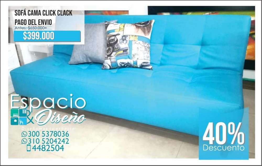 Sofa Cama con Envío Gratis!!