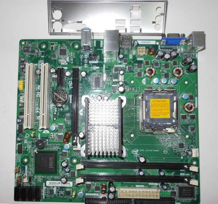 placa madre intel dg31pr mas dual core mas ram 2 gb