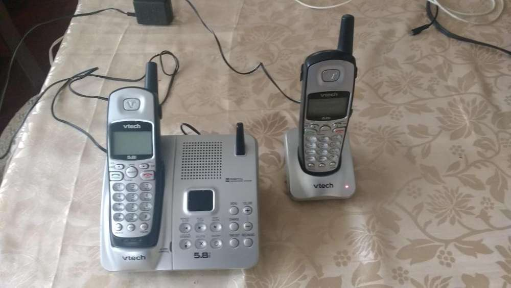 Telefono inalmbrico VTech con anexo