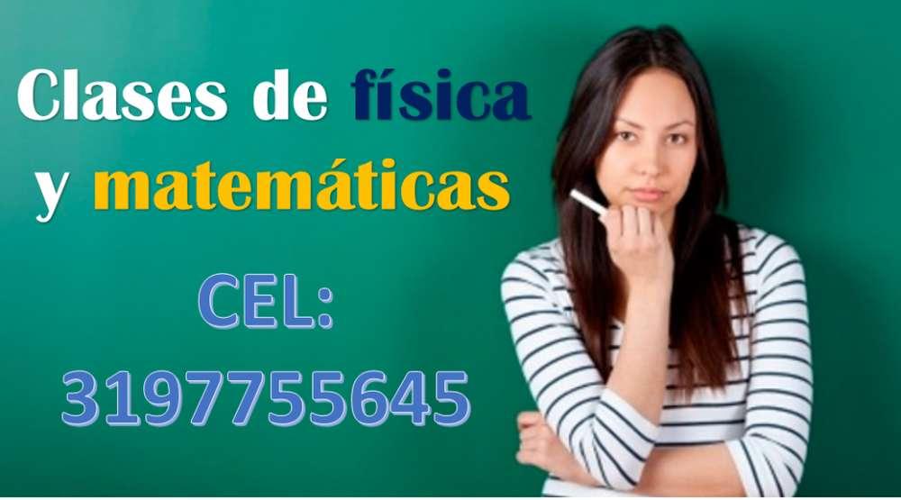 CLASES DE ÁLGEBRA, FÍSICA Y MATEMÁTICAS A DOMICILIO 3197755645