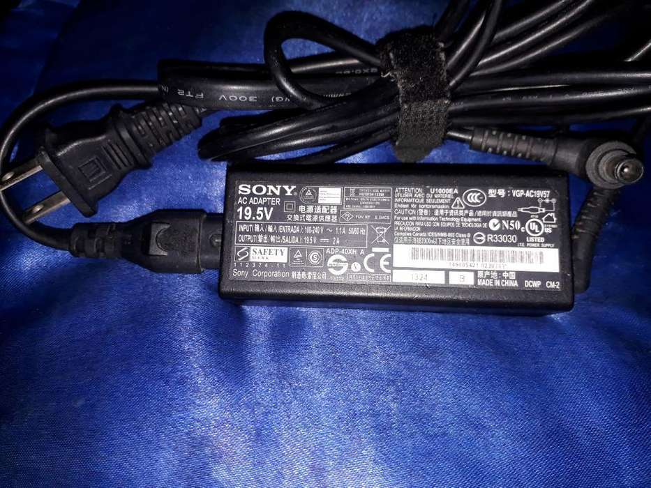 Cargador de Sony Vaio