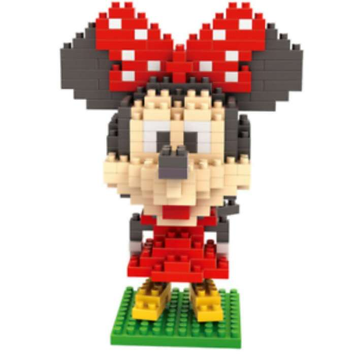 Lego Minie Mouse Micro Blocks
