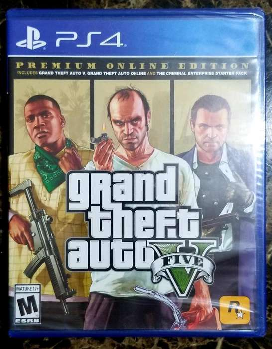 GTA 5 PARA V PLAYSTATION 4 OFERTA 28 ULTIMAS PIEZAS