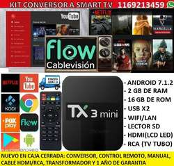 Converti Tv Tubo Lcd Led Smart Tv Dondle Universal 2/16gb Android 7