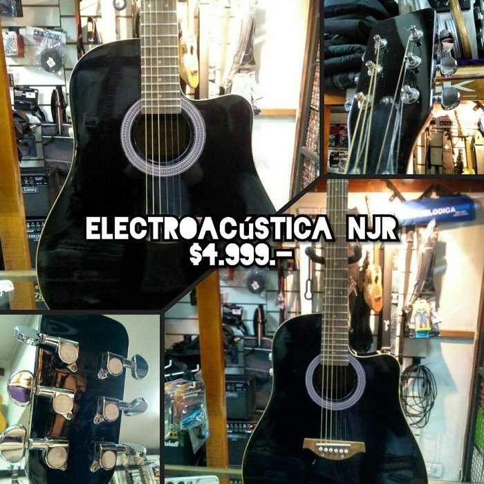 Guitarra Electroacústica Njr