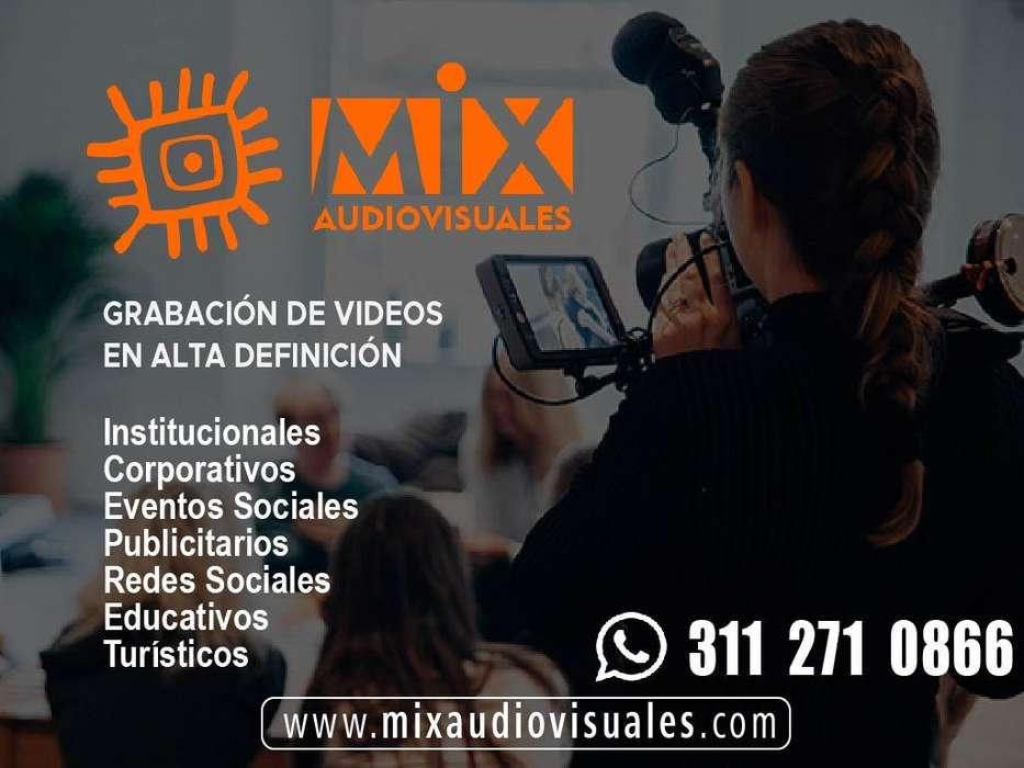 Grabación, Edición de Video Profesional