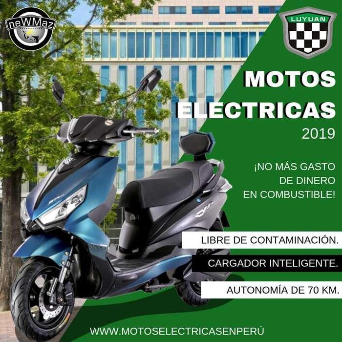 MOTO ELECTRICA LUYUAN 2019 - NEWMAZ