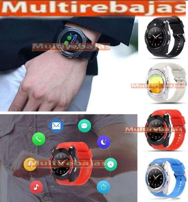 Nuevo Reloj Inteligente Smartwatch V8 2019 Con Camara