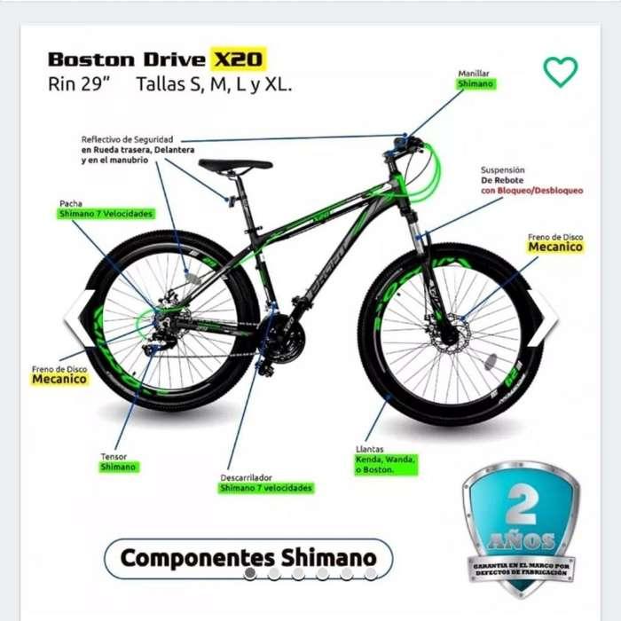 Bicicleta Profit Boston X20 Rin 29