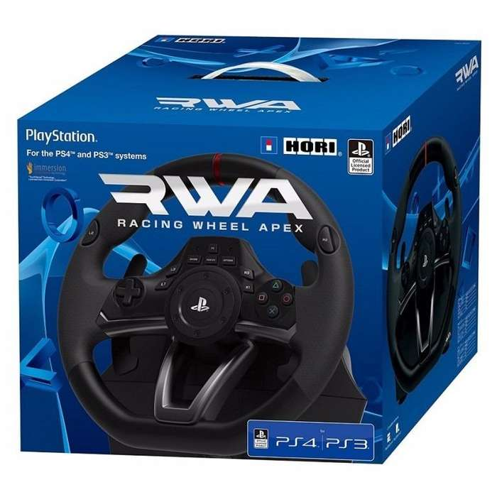 Volante Ps4 Ps3 Pc Rwa Racing Wheel Apex Licencia Ps Oficial