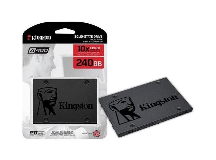 Disco Solido Kingston A400 240gb 2.5 Sata 3.0 6gb/s Pc Lapto