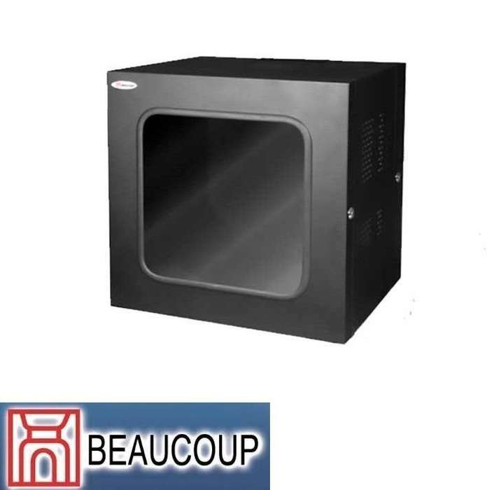 GABINETE RACK BEAUCOUP I1026 ABATIBLE DE PARED 12UR 61x61x51 cm