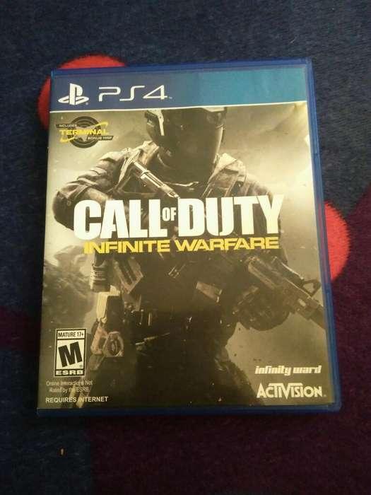 Call Of Dutty: Infinite Warfare Ps4