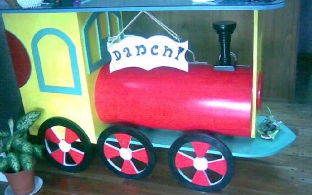 Locomotora de Madera