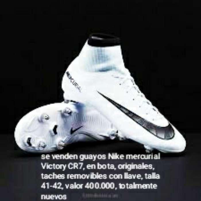 Se Venden Guayos Nike Mercurial Cr7 Orig