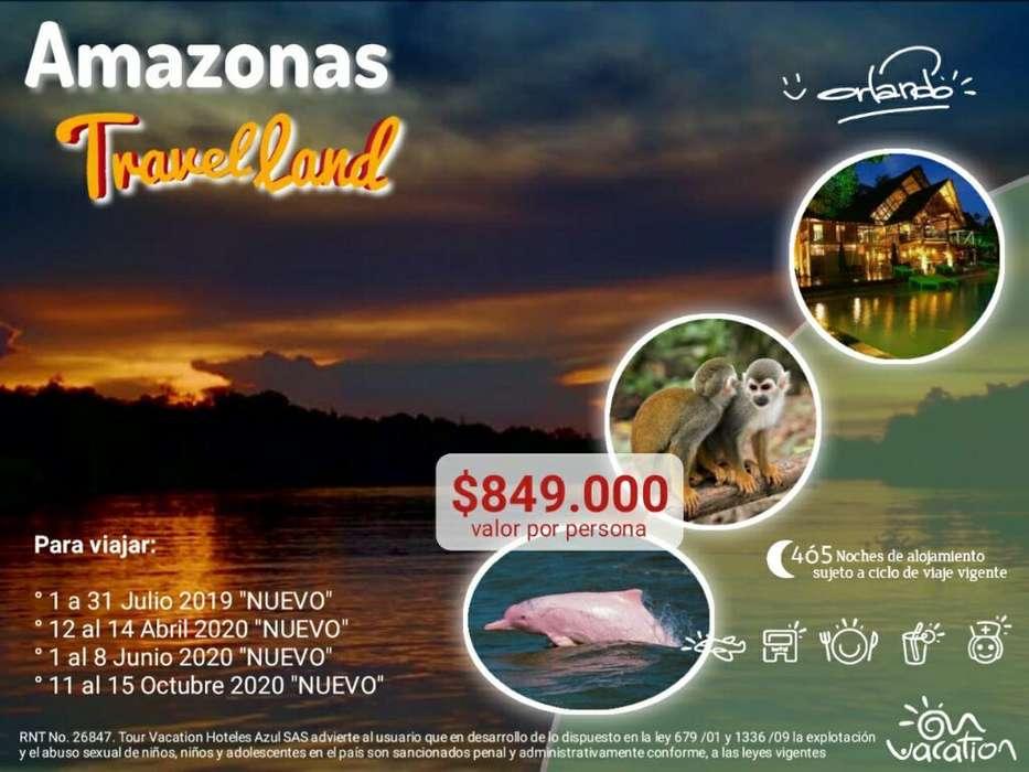 Viaja Al Amazonas con Todo Incluido