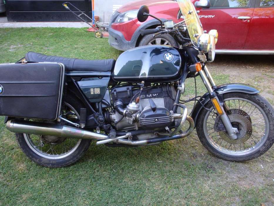 bmw r80 impecable y completa