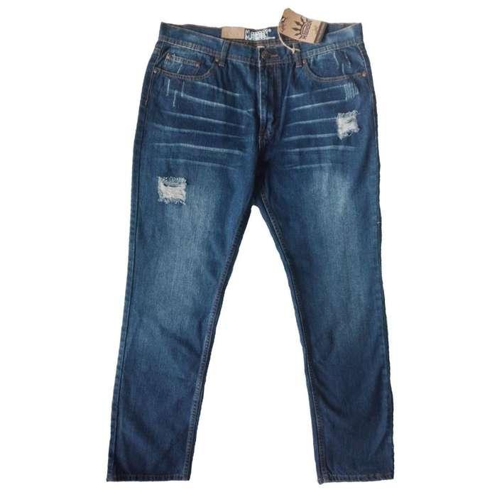 de3b6311e4 Pantalon Blue Jeans Hombre 38 M.Gordon Original Regalo Navidad Amor