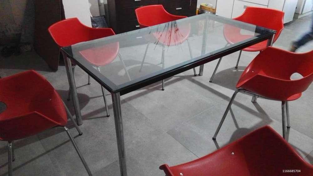Mesa de <strong>comedor</strong> Lecorbusier LC10