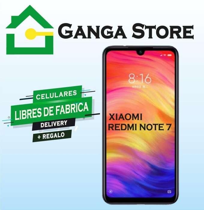 Redmi Note 7 con Garantía de Tienda