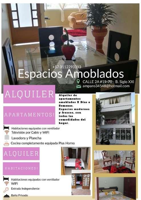 Alquiler <strong>apartamento</strong> Amoblado X Dias