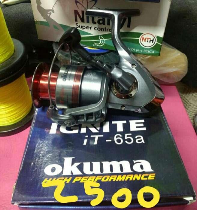 Reel Okuma Ignite It-65a