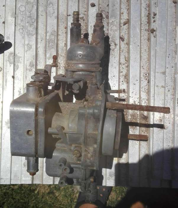 •carburador weber dos bocas 32 adf 2- era de un fiat 132