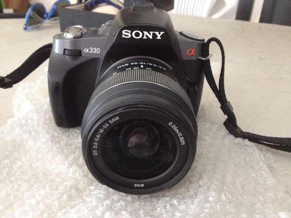 cámara semiprofesional <strong>sony</strong> alpha 330