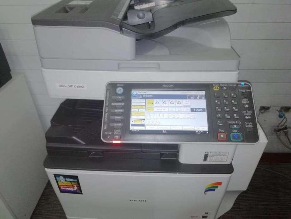 Copiadora Impresora Ricoh Mpc 4502 Color, A3 Como Nueva
