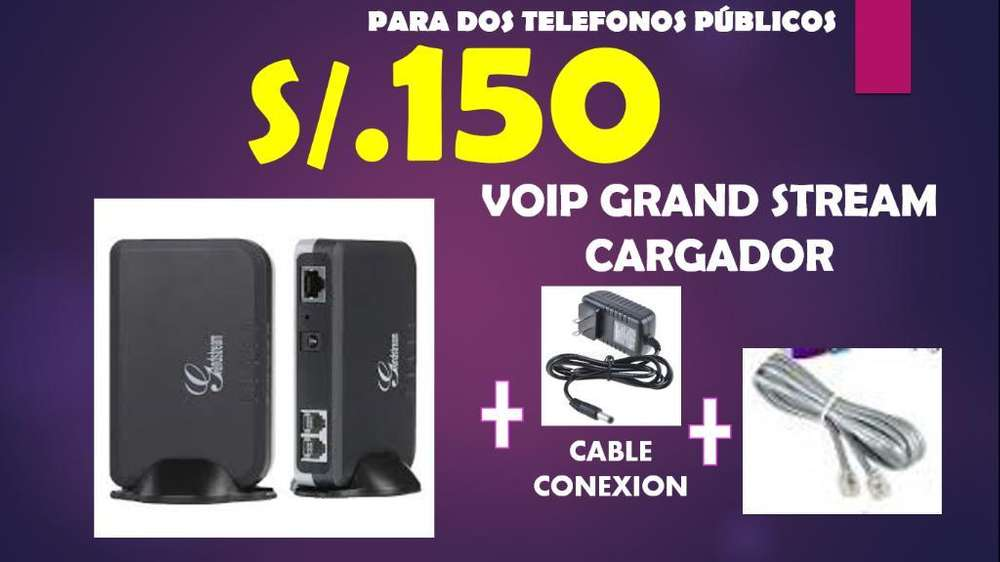 <strong>voip</strong> Grand Telefono Publico