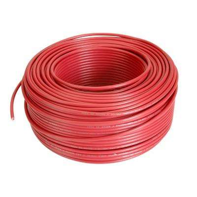 CABLE THW 90 ROJO DE 10AWG. INDECO.