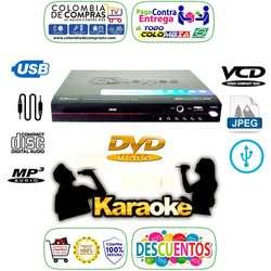 Dvd Karaóke Usb Mp3 Y Mp4 Lente Samsung Pantalla Led, Nuevos, Originales, Garantizados.