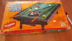 Pool de Mesa para Jugar Como Los Grandes