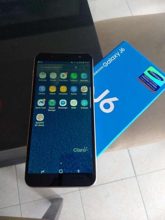Samsung Galaxy J6 , Caja, Huella 290