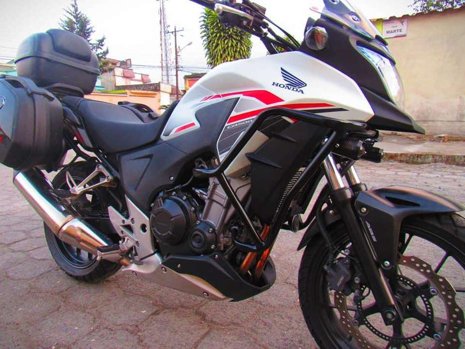 <strong>honda</strong> CB500x (de lujo full extras)