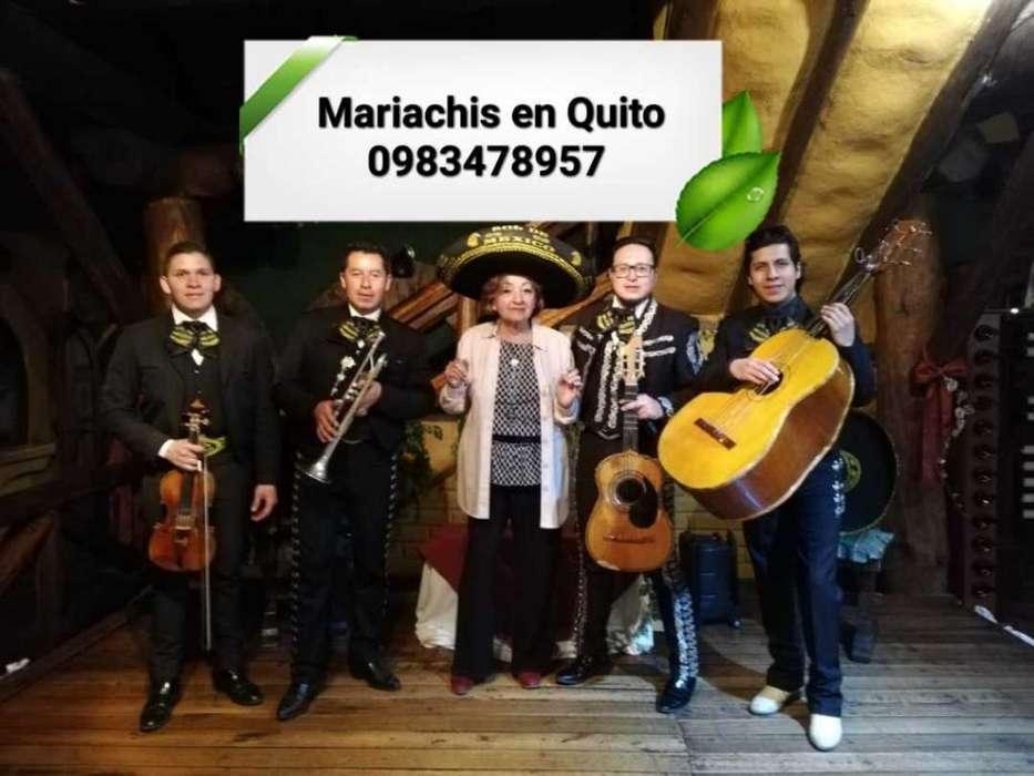 Mariachis en Quito La Mena Dos