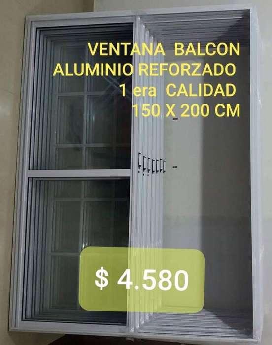 Ventana Balcon 150 X 200