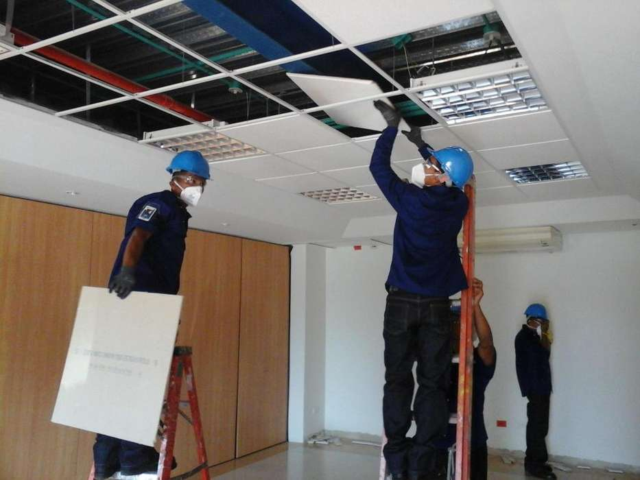 Mantenimiento y reparaciones locativas, Servicios de plomeria, electricidad, lavado de tanques de agua potable
