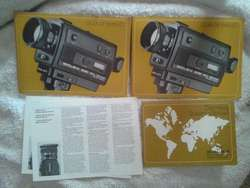 Filmadora Super 8 Bolex 551 XL Sound Mocro Zoom