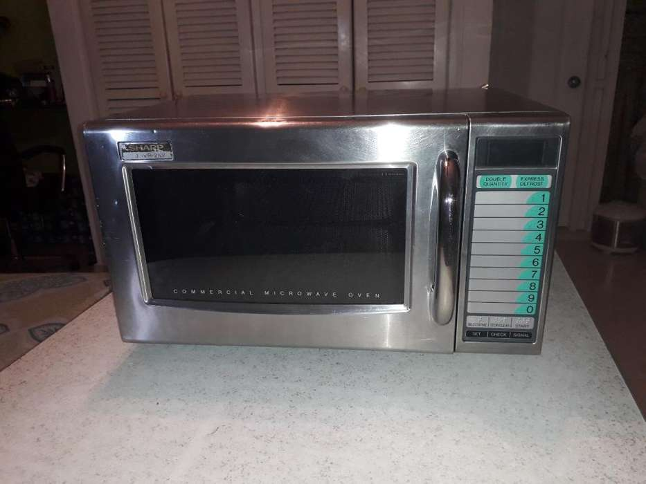 Vendo Horno Microondas Industrial Sharp