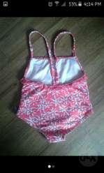 Vestido de Baño Usado Talla 1218 Meses