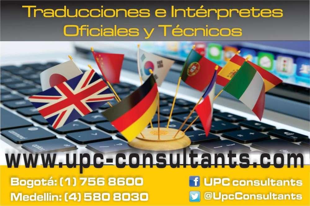 TRADUCCIONES OFICIALES Y TÉCNICAS INTERPRETACIÓN Y TRAMITES EN CANCILLERÍA, !! Llama ya!! 7568600***