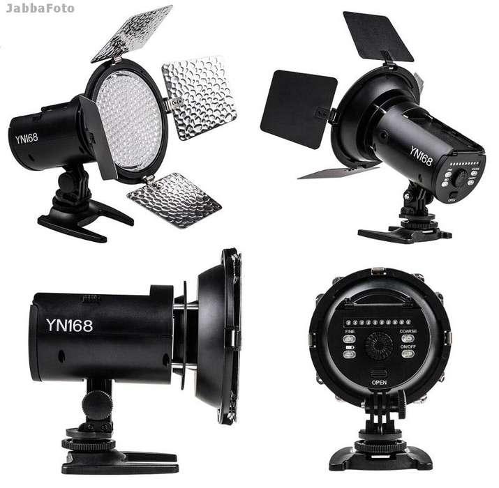 ILUMINADOR 168 LED YONGNUO YN168 P/ CAMARA/VIDEO/ESTUDIO
