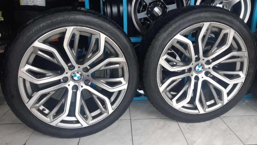 4 Aros Y <strong>llantas</strong> Seminuevas BMW R20 5 Huecos 120mm, 9/10 ultra lujo 2020 Toyo Made in USA.X6,X5,X4,X3,M6,M5,M4