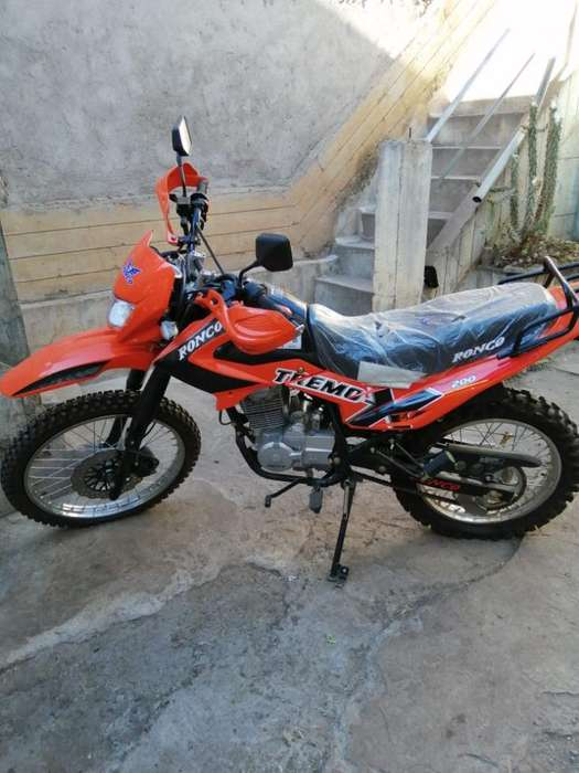 Motocicleta Nueva Cusco Marca Ronco